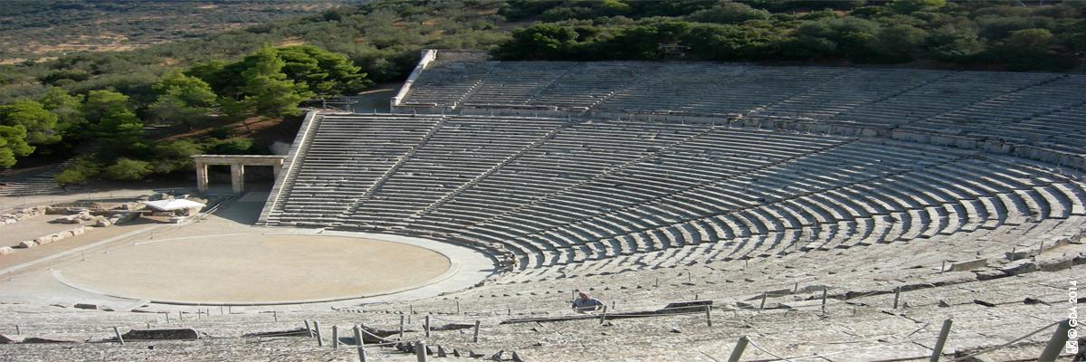 Pédagogie théâtre Épidaure Grèce