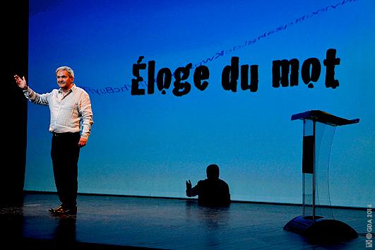 Scapin Art Oratoire Conférence Parler c'est beaucoup dire-Serge krakowski