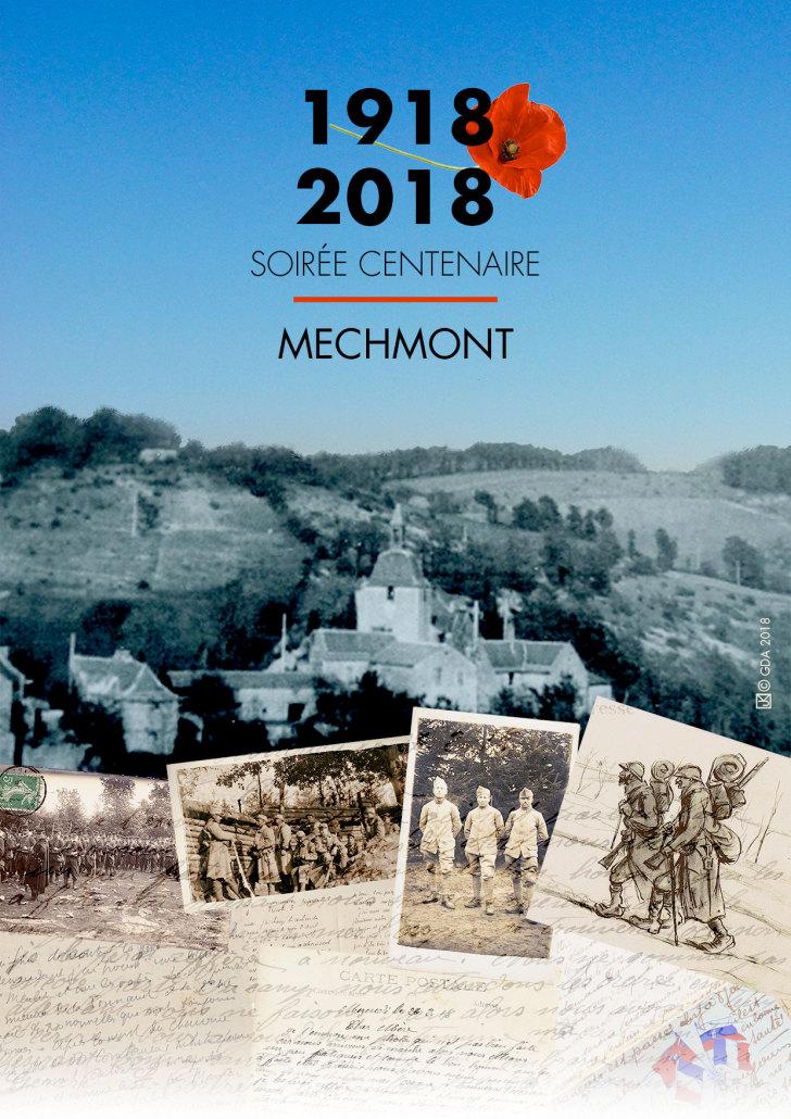 Commemoration-de-la-guerre-1914-1918-Mechmont-2018-Affiche-