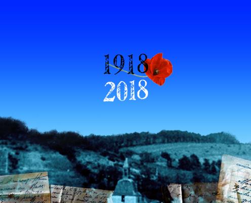 Commémoration de la guerre 1914-1918. Mechmont 2018. Décor